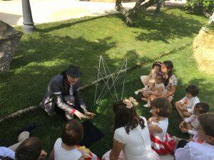 Magia para niños en boda