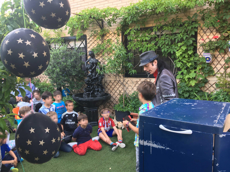 Magia infantil jardin